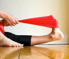 stretching con elastico