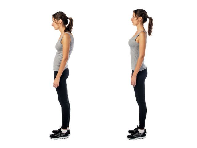 postura seno alto sodo e tonico