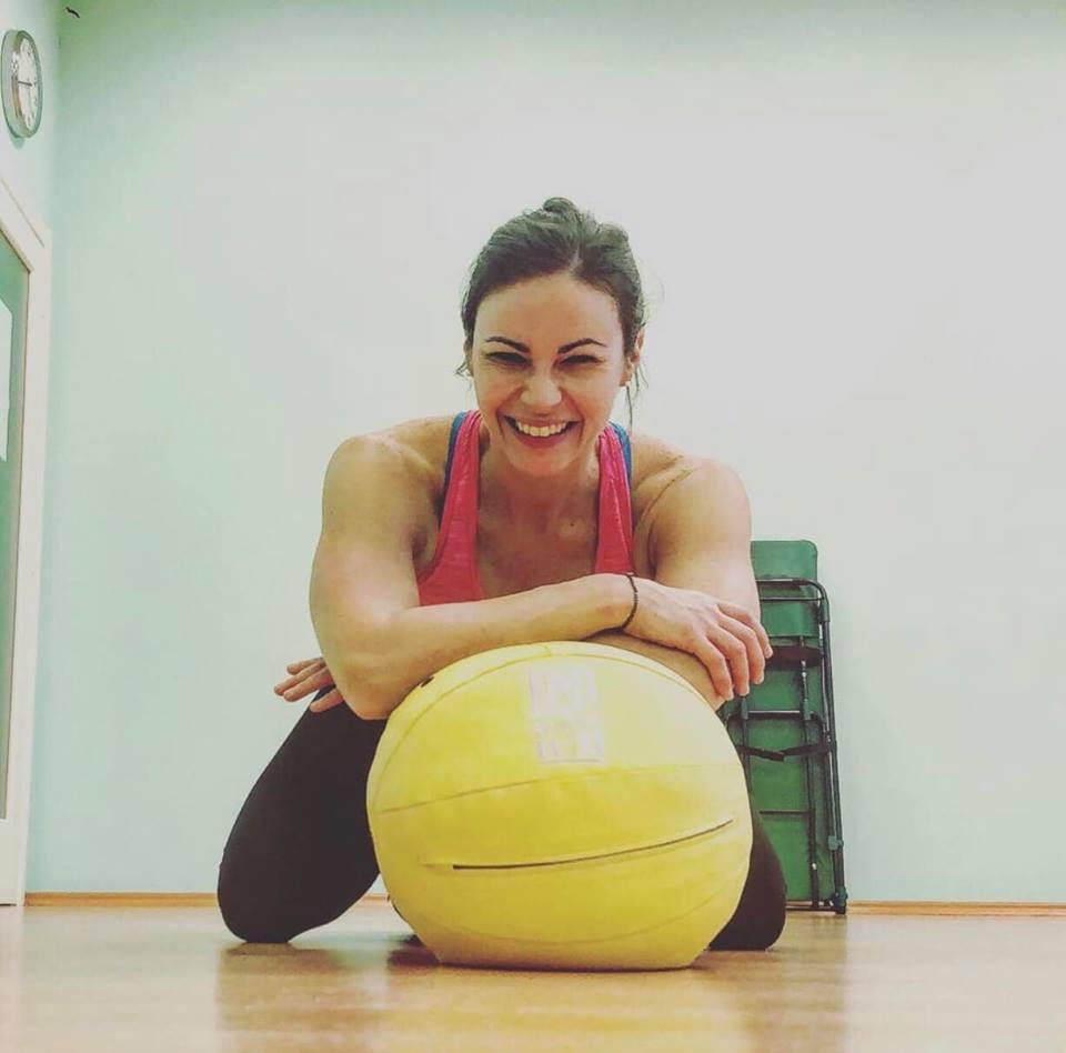 allenamento braccia e addome
