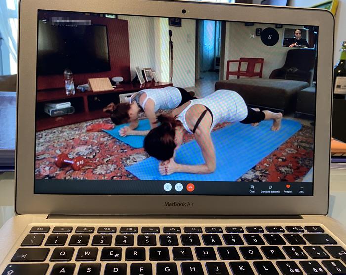 allenamento funzionale a casa Katia Vaccari