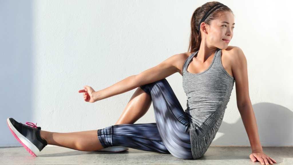 stretching contro dolore glutei post allenamento
